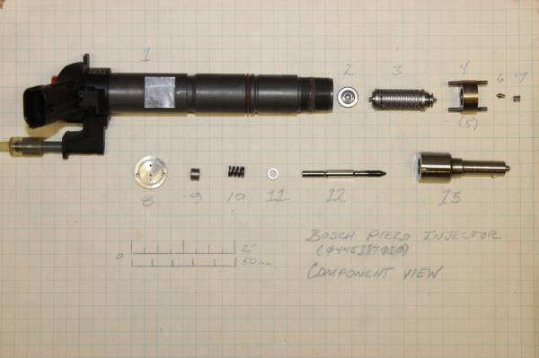 What's inside a Piezo Injector?